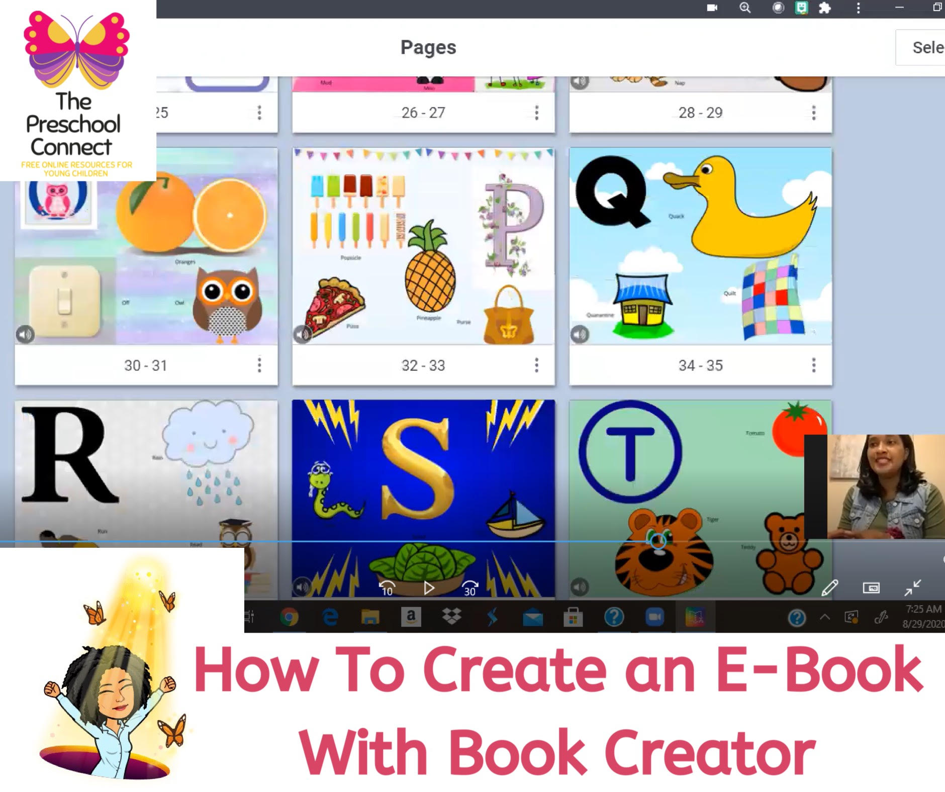How to Create a Free E-Book Using Book Creator Video
