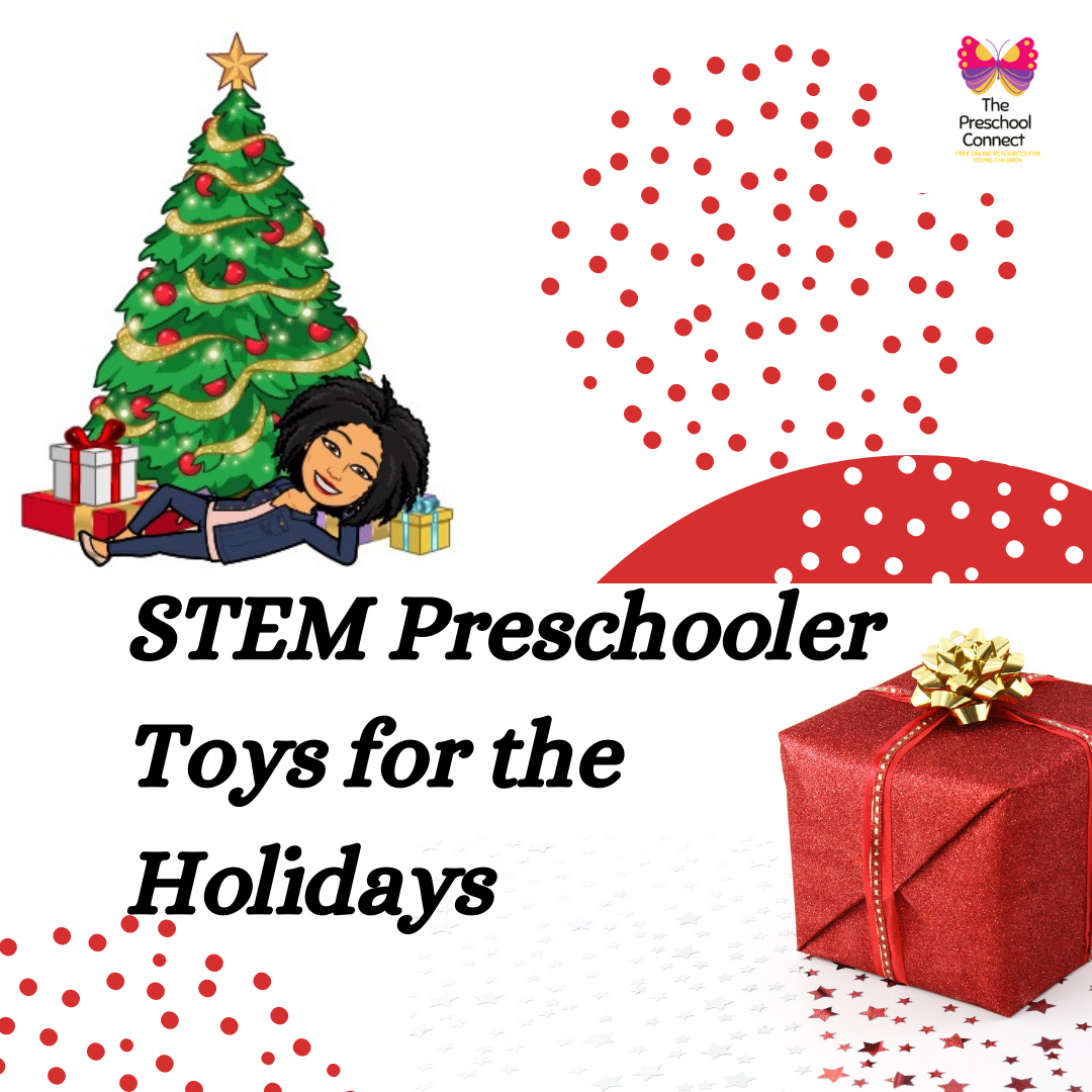 STEM Preschooler Toys for the Holidays