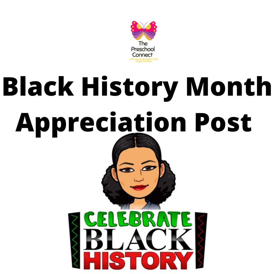 Black History Month Appreciation 2021